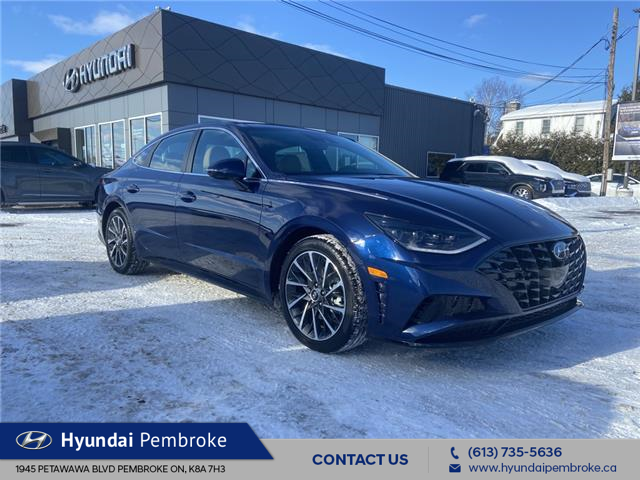 2021 Hyundai Sonata Ultimate (Stk: 21266) in Pembroke - Image 1 of 17