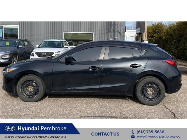 2018 Mazda Mazda3 Sport GX (Stk: 21330A) in Pembroke - Image 1 of 11