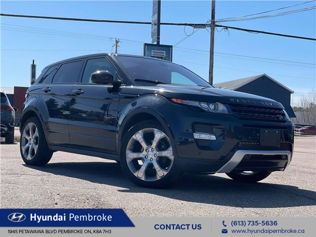 2014 Land Rover Range Rover Evoque Dynamic (Stk: 21345a) in Pembroke - Image 1 of 11