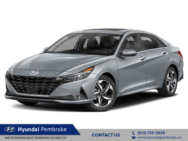 2021 Hyundai Elantra Ultimate Tech (Stk: 21348) in Pembroke - Image 1 of 9