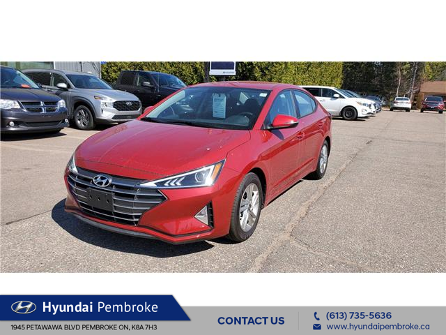 2020 Hyundai Elantra Preferred (Stk: P421) in Pembroke - Image 1 of 19
