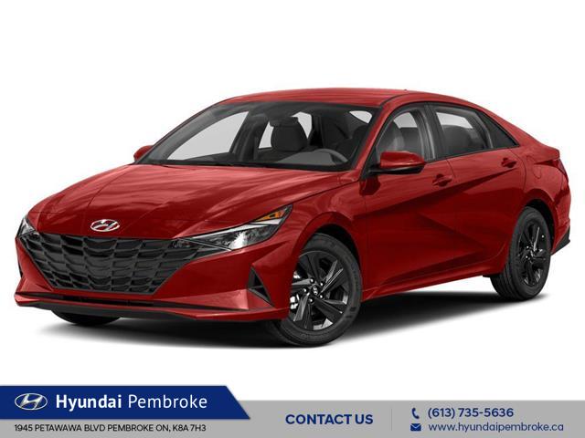 2021 Hyundai Elantra Preferred w/Sun & Tech Pkg (Stk: 21354) in Pembroke - Image 1 of 9
