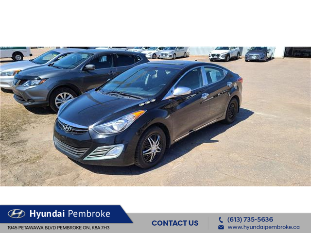 2012 Hyundai Elantra Limited (Stk: 21001A) in Pembroke - Image 1 of 14
