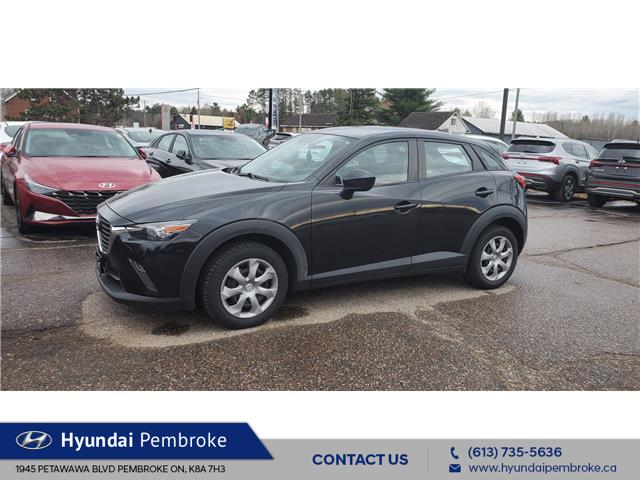 2017 Mazda CX-3 GX (Stk: 21293A) in Pembroke - Image 1 of 4