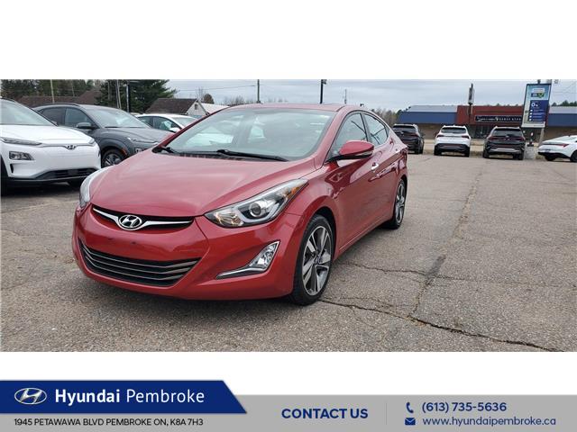 2015 Hyundai Elantra Limited (Stk: 21305A) in Pembroke - Image 1 of 24