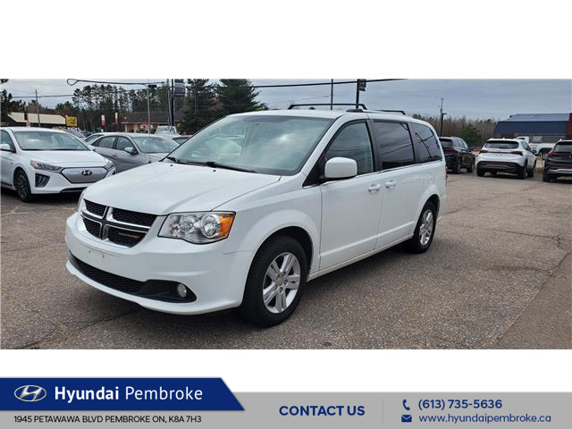2018 Dodge Grand Caravan Crew (Stk: 21352B) in Pembroke - Image 1 of 6
