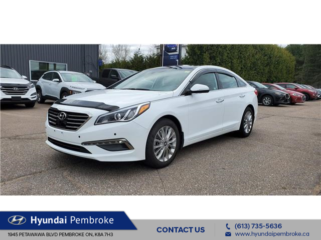 2015 Hyundai Sonata Limited (Stk: 21302a) in Pembroke - Image 1 of 25