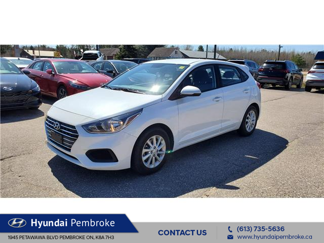 2020 Hyundai Accent Preferred (Stk: P427) in Pembroke - Image 1 of 21