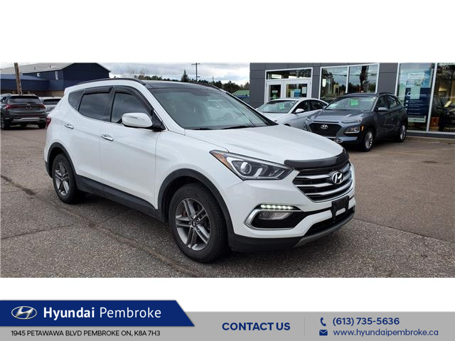 2018 Hyundai Santa Fe Sport 2.4 SE (Stk: 21227a) in Pembroke - Image 1 of 17