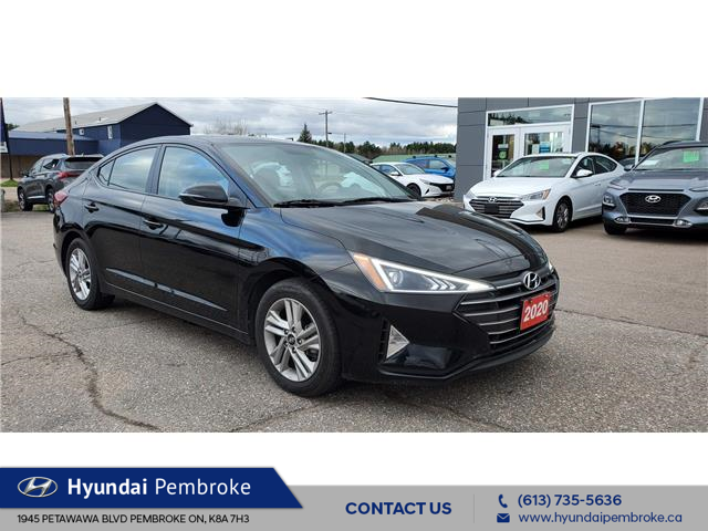 2020 Hyundai Elantra Preferred (Stk: P277) in Pembroke - Image 1 of 18