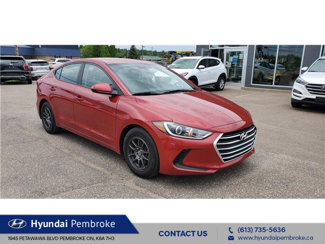 2017 Hyundai Elantra LE (Stk: 21407A) in Pembroke - Image 1 of 13