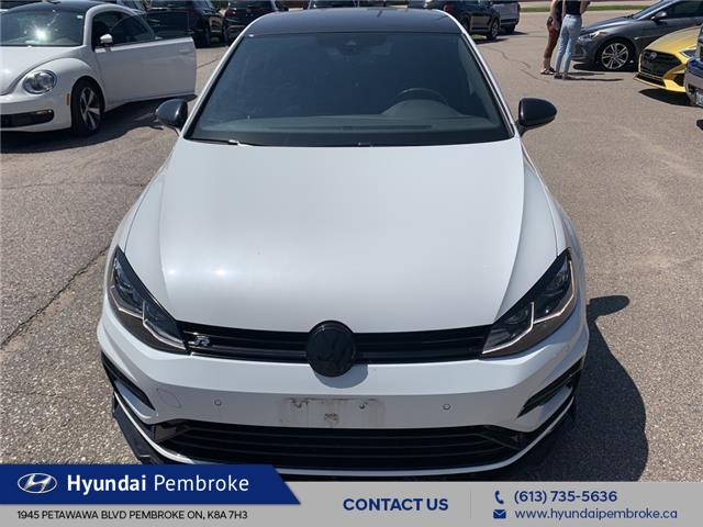 2018 Volkswagen Golf R 2.0 TSI (Stk: 22038A) in Pembroke - Image 1 of 14