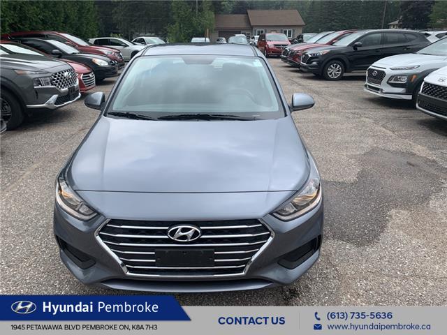 2020 Hyundai Accent Preferred (Stk: P432) in Pembroke - Image 1 of 12