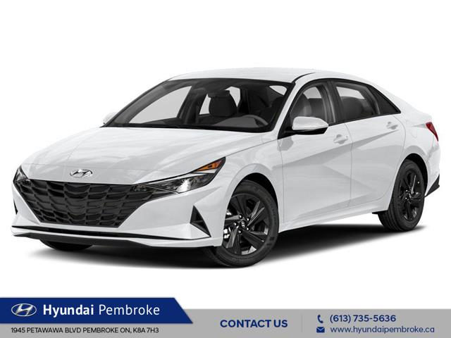 2022 Hyundai Elantra Preferred w/Sun & Tech Pkg (Stk: 22106) in Pembroke - Image 1 of 9