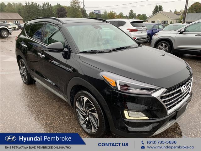 2021 Hyundai Tucson Ultimate (Stk: P466) in Pembroke - Image 1 of 14
