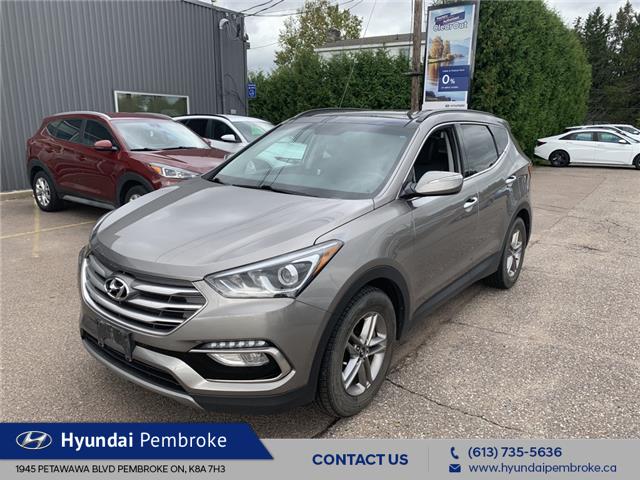 2017 Hyundai Santa Fe Sport 2.4 SE (Stk: 21268E) in Pembroke - Image 1 of 12
