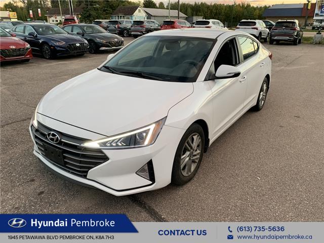 2019 Hyundai Elantra Preferred (Stk: 21210A) in Pembroke - Image 1 of 12