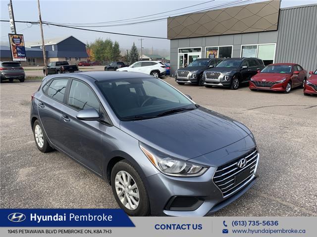 2020 Hyundai Accent Preferred (Stk: P433) in Pembroke - Image 1 of 11