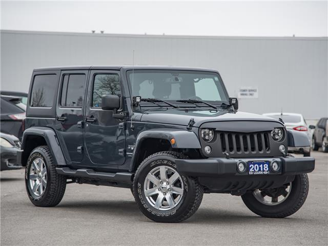 2018 Jeep Wrangler JK Unlimited Sahara (Stk: 19F11238T) in St. Catharines - Image 1 of 23