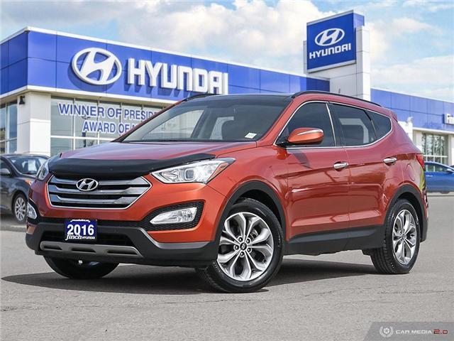 2016 Hyundai Santa Fe Sport 2 0t Limited Fully Loaded 2 0l