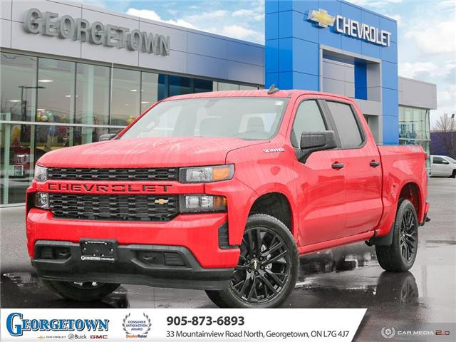 2020 Chevrolet Silverado 1500 Silverado Custom (Stk: 30505) in Georgetown - Image 1 of 27