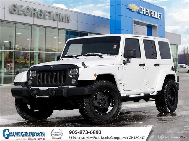 2015 Jeep Wrangler Unlimited Sahara (Stk: 31169) in Georgetown - Image 1 of 26