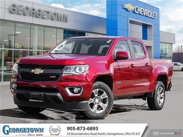 2020 Chevrolet Colorado Z71 1GCGTDEN5L1137161 31628 in Georgetown