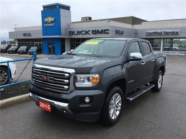 2015 GMC Canyon SLT (Stk: 155295) in Grimsby - Image 1 of 14