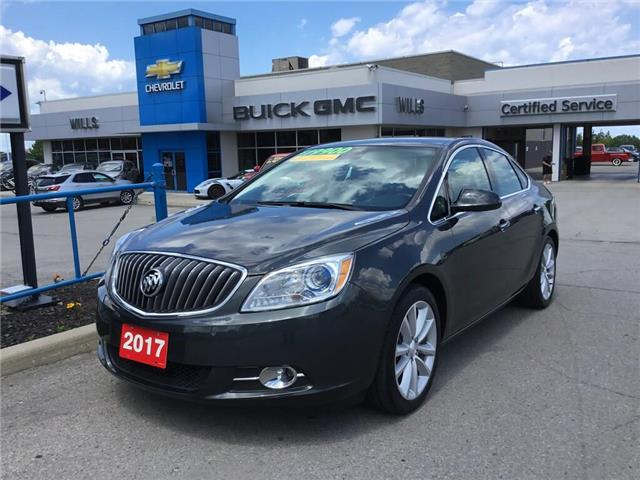 2017 Buick Verano Leather (Stk: K416B) in Grimsby - Image 1 of 14