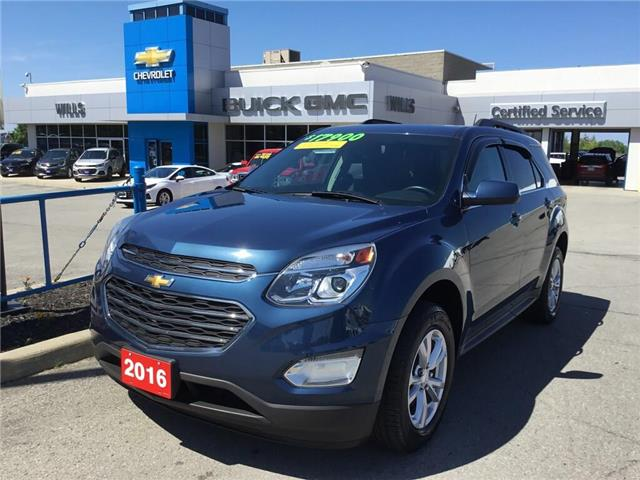 2016 Chevrolet Equinox LT (Stk: K318A) in Grimsby - Image 1 of 15