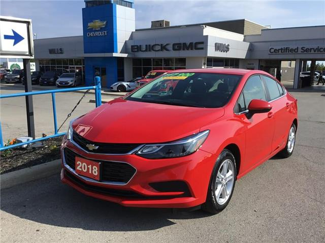 2018 Chevrolet Cruze LT Auto (Stk: 187991) in Grimsby - Image 1 of 14