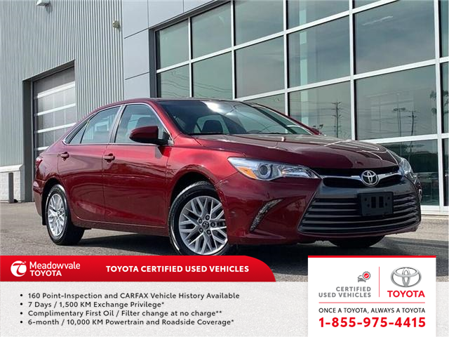 2016 Toyota Camry LE!! JUST TRADED !! (Stk: 31466) in Mississauga - Image 1 of 18
