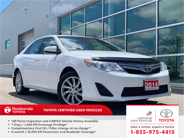 2014 Toyota Camry LE!! JUST TRADED IN !! (Stk: M190445A) in Mississauga - Image 1 of 18