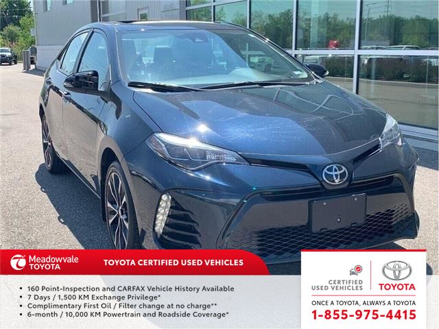 2018 Toyota Corolla SE UPGRADE!! NEW ARRIVAL !! (Stk: 31462) in Mississauga - Image 1 of 18