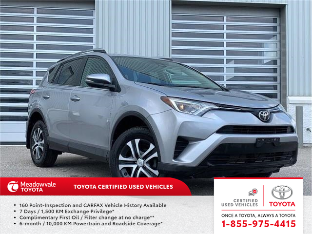 2017 Toyota RAV4 LE!! JUST TRADED IN !! (Stk: M190372A) in Mississauga - Image 1 of 17