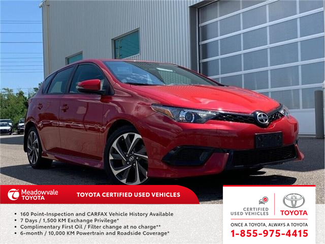 2016 Scion iM NEW ARRIVAL !! (Stk: M190726A) in Mississauga - Image 1 of 16