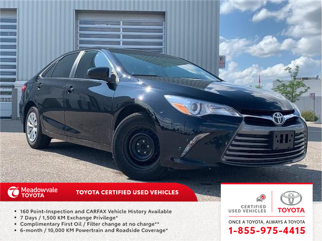 2015 Toyota Camry LE!! JUST TRADED !! (Stk: 31481) in Mississauga - Image 1 of 16