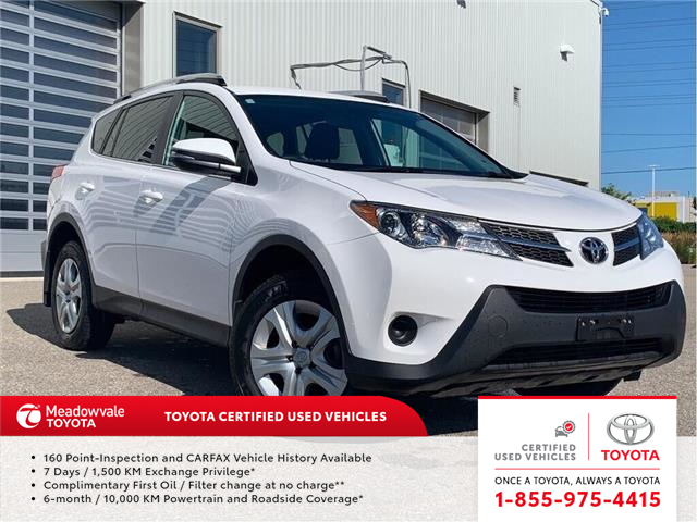 2015 Toyota RAV4 LE AWD!! JUST TRADED IN !! (Stk: 31494) in Mississauga - Image 1 of 14