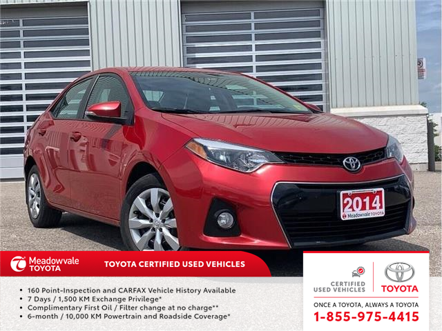 2014 Toyota Corolla S!! SOLD (Stk: 31497) in Mississauga - Image 1 of 16