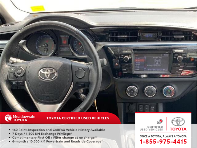 2014 Toyota Corolla S!! SOLD (Stk: 31497) in Mississauga - Image 2 of 16