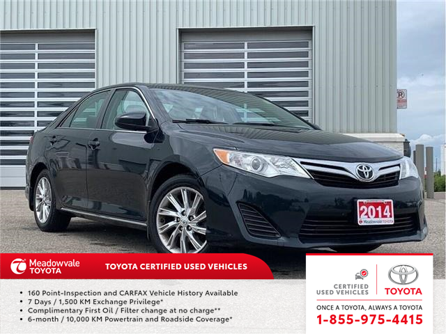 2014 Toyota Camry LE!! JUST TRADED IN !! (Stk: M190829A) in Mississauga - Image 1 of 10