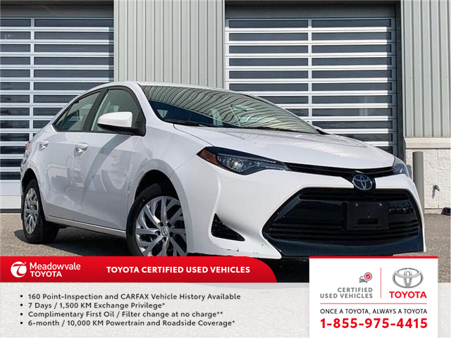 2018 Toyota Corolla JUST TRADED! (Stk: 31496) in Mississauga - Image 1 of 17