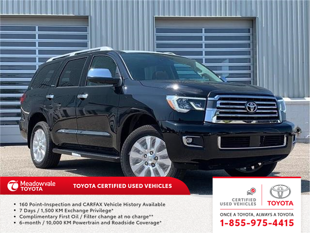 2018 Toyota Sequoia PLATINUM! 2018 CLEAROUT ! (Stk: 31490) in Mississauga - Image 1 of 22