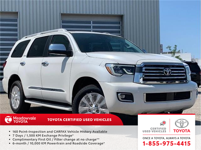2018 Toyota Sequoia PLATINUM! 2018 CLEAROUT ! (Stk: 31489) in Mississauga - Image 1 of 19