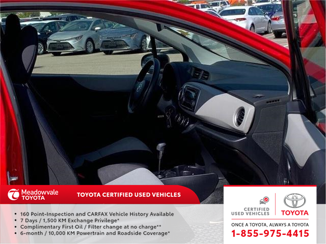 2013 Toyota Yaris CE!! JUST TRADED IN !! (Stk: M190814B) in Mississauga - Image 2 of 11