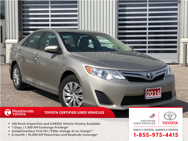 2014 Toyota Camry LE!! JUST TRADED IN !! (Stk: 31508) in Mississauga - Image 1 of 19