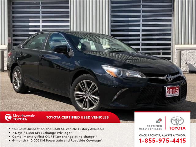 2015 Toyota Camry SE!! JUST TRADED !! (Stk: M190899A) in Mississauga - Image 1 of 13