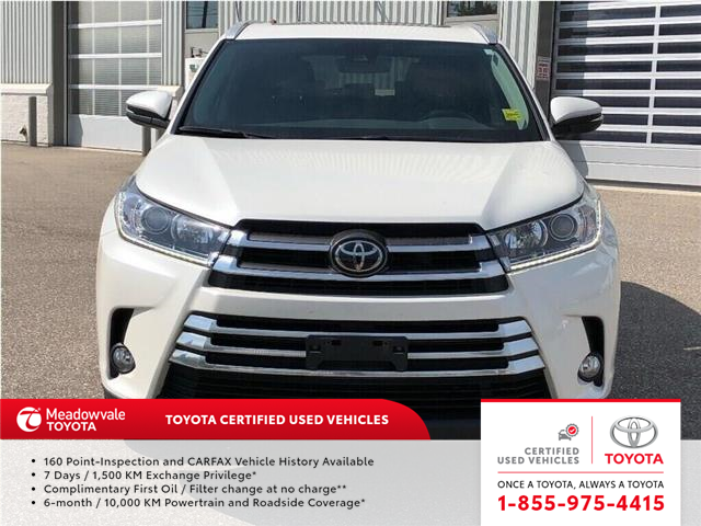 2017 Toyota Highlander XLE!! JUST TRADED IN !! (Stk: M190878A) in Mississauga - Image 2 of 20