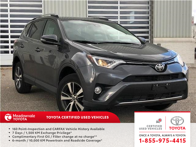 2017 Toyota RAV4 XLE!! JUST TRADED IN !! (Stk: M200286A) in Mississauga - Image 1 of 15