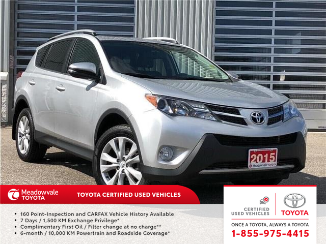 2015 Toyota RAV4 LIMITED!! (Stk: 31499) in Mississauga - Image 1 of 21